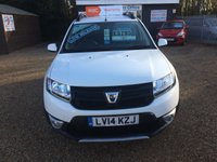 USED 2014 14 DACIA SANDERO 0.9 STEPWAY AMBIANCE TCE 5d 90 BHP FULLY AA INSPECTED - FINANCE AVAILABLE
