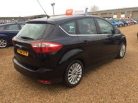 USED 2012 62 FORD C-MAX 1.6 TITANIUM TDCI 5d 114 BHP FULLY AA INSPECTED - FINANCE AVAILABLE