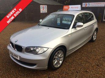 2010 BMW 1 SERIES 2.0 116D ES 5d 114 BHP SOLD