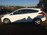 USED 2014 14 FORD FOCUS 1.6 ZETEC NAVIGATOR ECONETIC TDCI START/STOP 5d 104 BHP FULLY AA INSPECTED - FINANCE AVAILABLE