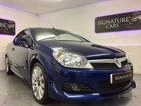 2008 VAUXHALL ASTRA 1.8 TWIN TOP DESIGN 3d 140 BHP £2400.00