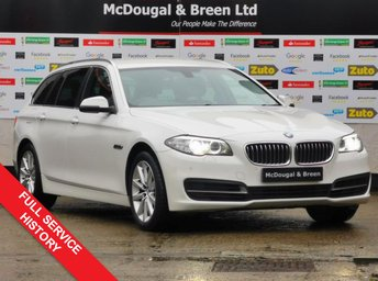 2014 BMW 5 SERIES 2.0 520D SE TOURING 5d 181 BHP £12999.00