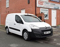 2017 CITROEN BERLINGO 1.6 625 ENTERPRISE L1 BLUEHDI 74 BHP £6749.00