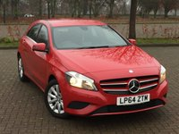 USED 2015 64 MERCEDES-BENZ A CLASS 1.6 A180 BLUEEFFICIENCY SE 5d 122 BHP