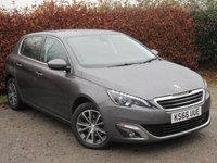 USED 2016 66 PEUGEOT 308 1.6 BLUE HDI S/S ALLURE 5d 128 POINT AA INSPECTION 12 MONTHS FREE AA MEMBERSHIP