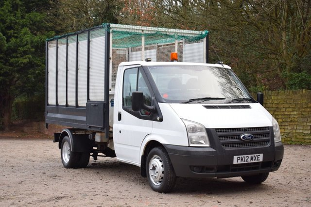 USED 2012 12 FORD TRANSIT 2.2 350 DRW 124 BHP