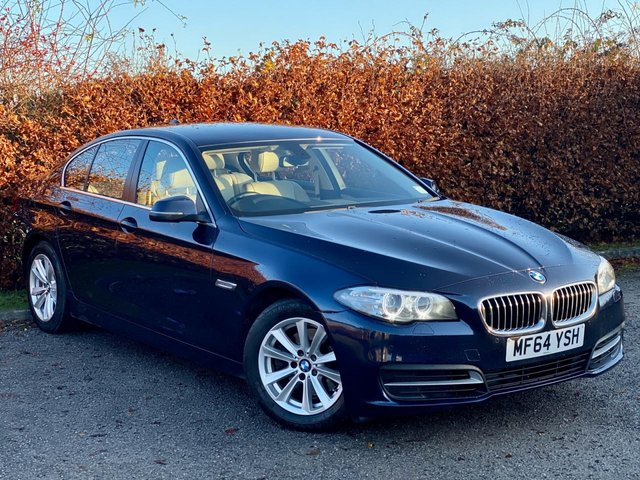 USED 2014 64 BMW 5 SERIES 2.0 520D SE 4d  * ECONOMICAL * LUXURY SPORT *