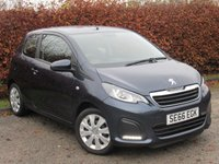 USED 2017 66 PEUGEOT 108 1.0 ACTIVE 3d 68 BHP * 128 POINT AA INSPECTED * 12 MONTHS FREE AA MEMBERSHIP *