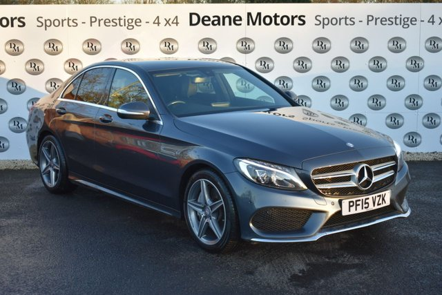 2015 15 MERCEDES-BENZ C CLASS 2.1 C250 BLUETEC AMG LINE 4d 204 BHP SALE TAKE £300 OFF