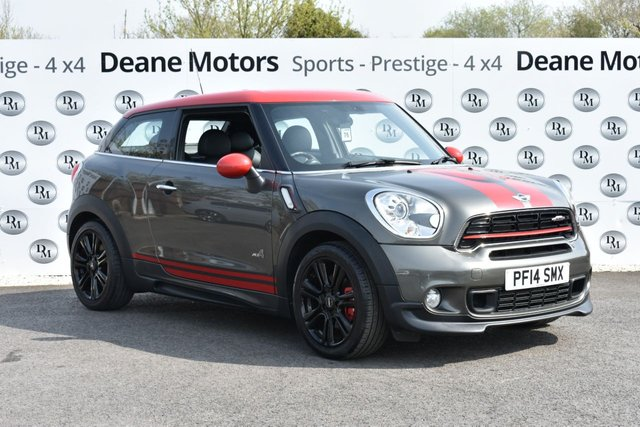 2014 14 MINI MINI PACEMAN 1.6 JOHN COOPER WORKS 3d 215 BHP HUGE SPECIFICATION