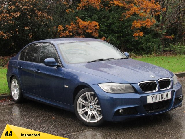 USED 2011 11 BMW 3 SERIES 2.0 320D M SPORT 4d 181 BHP FULL LEATHER INTERIOR, ALLOY WHEELS