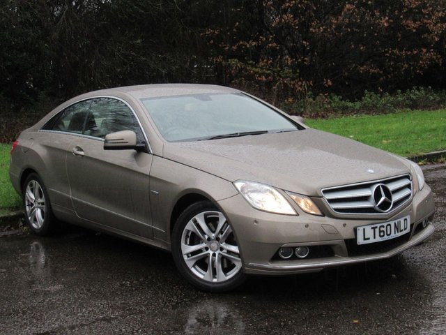 USED 2010 60 MERCEDES-BENZ E CLASS 2.1 E250 CDI BLUEEFFICIENCY SE 2d 204 BHP FULL HEATED LEATHER INTERIOR, SATELLITE NAVIGATION