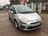 USED 2009 09 CITROEN C4 PICASSO 2.0 VTR PLUS HDI 5d 135 BHP SERVICE HISTORY-6 STAMPS-DIESEL-12 MONTHS MOT-ALLOYS-A/C
