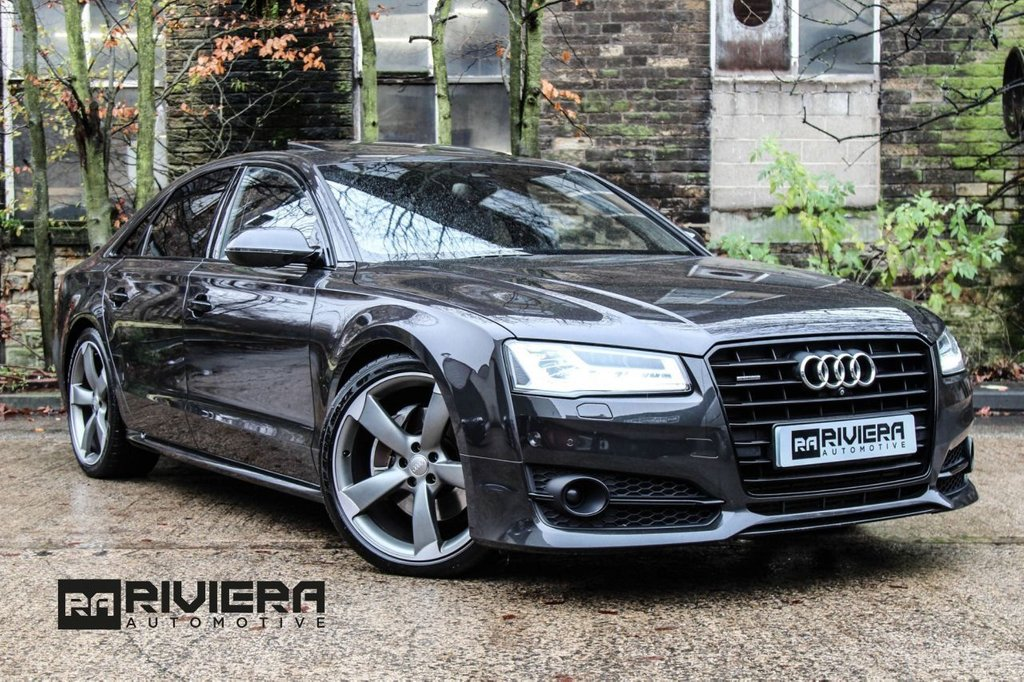 USED 2017 66 AUDI A8 3.0 TDI QUATTRO BLACK EDITION 4d 258 BHP