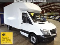 USED 2016 16 MERCEDES-BENZ SPRINTER 2.1 313 CDI 129 BHP LWB LUTON VAN WITH TAIL LIFT - AA DEALER PROMISE - TRADING STANDARDS APPROVED -