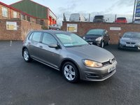 USED 2015 VOLKSWAGEN GOLF 1.6 MATCH TDI BLUEMOTION TECHNOLOGY 5d 103 BHP * BLUETOOTH AND PARKING ASSIST *