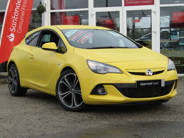 2015 15 VAUXHALL ASTRA 1.4 GTC LIMITED EDITION S/S 3d 118 BHP