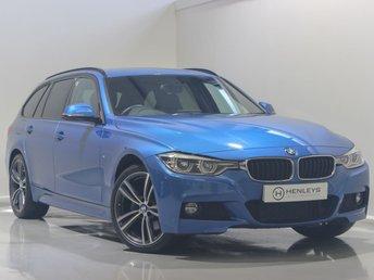 2017 BMW 3 SERIES 2.0 320D XDRIVE M SPORT TOURING 5d 188 BHP £18990.00