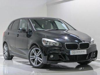 2016 BMW 2 SERIES 2.0 220D XDRIVE M SPORT ACTIVE TOURER 5d 188 BHP £14590.00