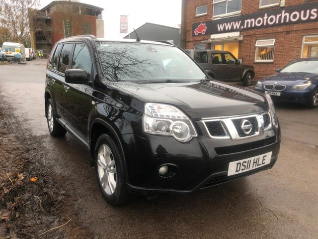 USED 2011 11 NISSAN X-TRAIL 2.0 ACENTA DCI  5d 171 BHP EXCELLENT EXAMPLE WITH ALLOY WHEELS, CRUISE CONTROL, CLIMATE CONTROL, HEATED WINDSCREEN, RADIO/CD/AUX/USB, Cat D