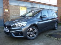 USED 2016 66 BMW 2 SERIES 1.5 216D SPORT GRAN TOURER 5d 114 BHP ONE OWNER SEVEN SEATER WITH FULL BMW SERVICE HISTORY & £20 A YEAR ROAD TAX