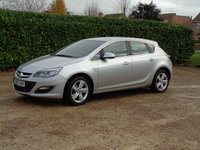 USED 2012 62 VAUXHALL ASTRA 1.4 SRI 5d 98 BHP 81000 miles just had full service inc chain kit fitted