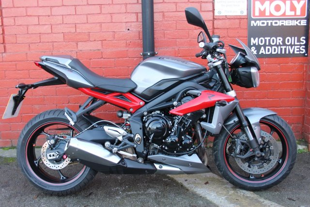 USED 2014 14 TRIUMPH STREET TRIPLE 675 R ABS  A Great First Bike, 3mth Warranty, Finance Available.