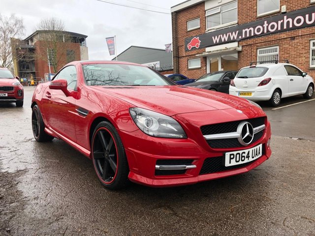 USED 2014 64 MERCEDES-BENZ SLK 2.1 SLK250 CDI BLUEEFFICIENCY AMG SPORT 2d 204 BHP CONVERTIBLE STUNNING VERY LOW MILEAGE EXAMPLE WITH SERVICE HISTORY, ALLOY WHEELS, HEATED WINDSCREEN, HEATED LEATHER SEATS, RADIO/CD/AUX/USB, CRUSIE CONTROL, CLIMATE CONTROL