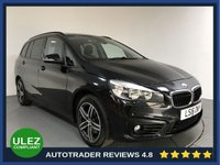 USED 2016 16 BMW 2 SERIES 1.5 218I SPORT GRAN TOURER 5d 134 BHP BMW HISTORY - 1 OWNER - 7 SEATS - PARKING SENSORS - AIR CON - BLUETOOTH - DAB - CRUISE - AUX / USB