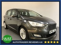 USED 2016 66 FORD GRAND C-MAX 1.5 TITANIUM TDCI 5d 118 BHP FULL FORD HISTORY - 1 OWNER - 7 SEATS - SAT NAV - PARKING SENSORS - AIR CON - BLUETOOTH - DAB - CRUISE