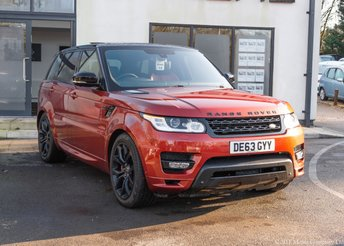 2013 LAND ROVER RANGE ROVER SPORT 3.0 SDV6 AUTOBIOGRAPHY DYNAMIC 5d 288 BHP £33890.00