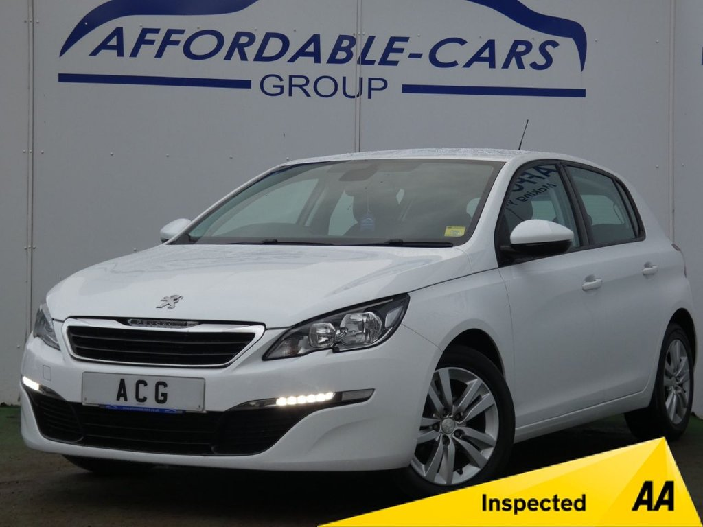 USED 2015 65 PEUGEOT 308 1.6 BLUE HDI S/S ACTIVE 5d 100 BHP