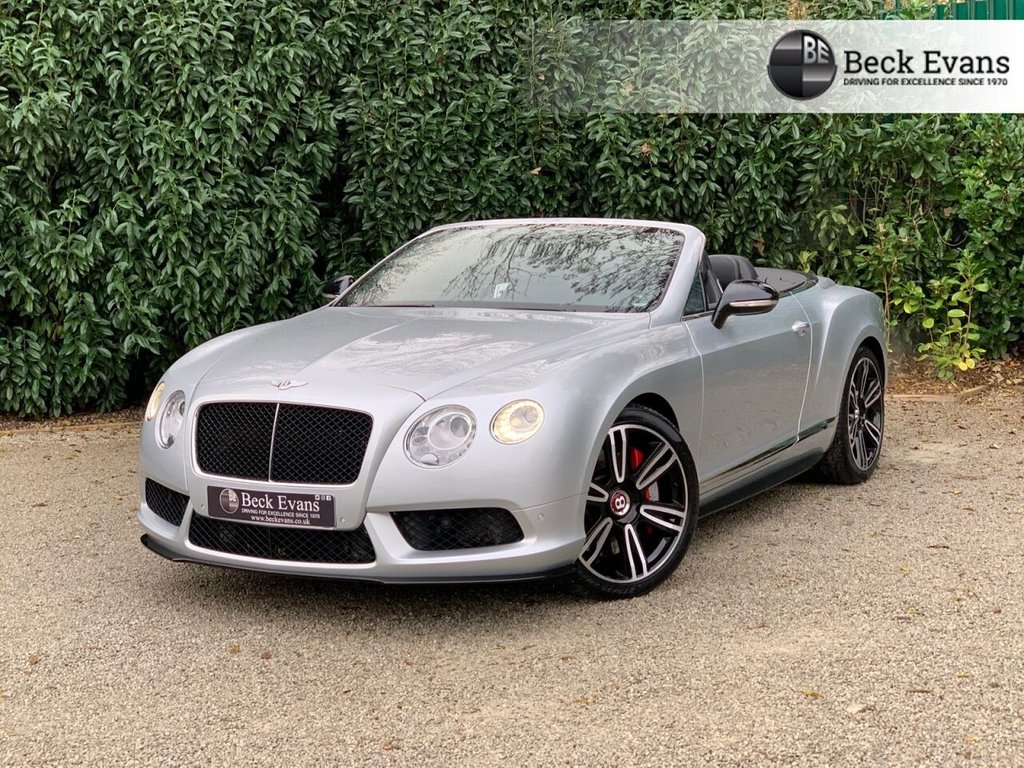 USED 2014 55 BENTLEY CONTINENTAL 4.0 GT V8 S 2d 521 BHP