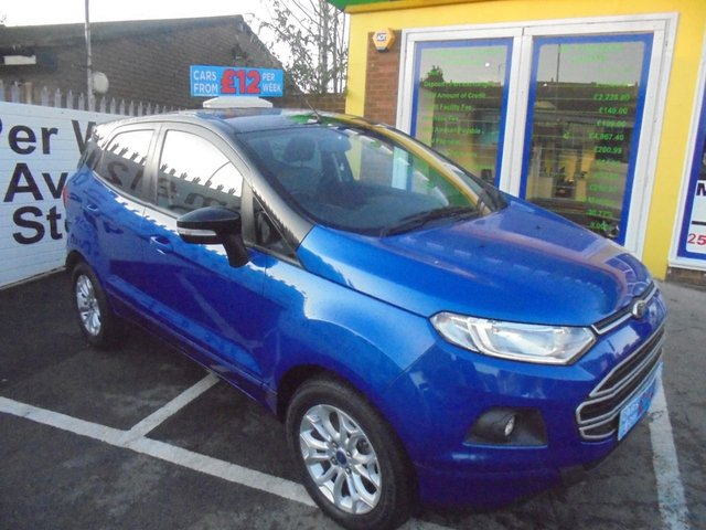 USED 2015 65 FORD ECOSPORT 1.0 ZETEC 5d 124 BHP ** 01922 494874 ** JUST ARRIVED **