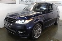 USED 2016 66 LAND ROVER RANGE ROVER SPORT 4.4 SD V8 Autobiography Dynamic 4X4 (s/s) 5dr HEADS UP! DEPLOYABLE S/STEPS!