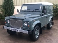 USED 2014 LAND ROVER DEFENDER 90 2.2 TD HARD TOP 122 BHP NO VAT,LOW MILES,CUSTOM ALLOYS