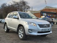 USED 2010 60 TOYOTA RAV4 2.2 XT-R D-4D  5d 150 BHP HALF LEATHER +   PARKING AID +  PRIVACY GLASS +   17 INCH ALLOYS +  SERVICE RECORD +