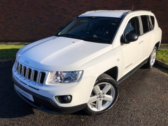 2012 62 JEEP COMPASS 2.4 LIMITED 5d 168 BHP