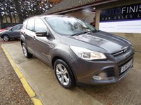 USED 2013 63 FORD KUGA 2.0 ZETEC TDCI 5d 138 BHP * FINANCE FROM £167.34 P/M WITH A £500 DEPOSIT * 1 KEEPER FROM NEW * FULL FORD SERVICE HISTORY * 2 KEYS *