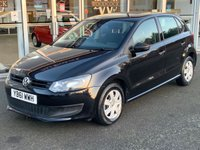 USED 2012 61 VOLKSWAGEN POLO 1.2 S A/C 5 DOOR HATCHBACK 60 BHP