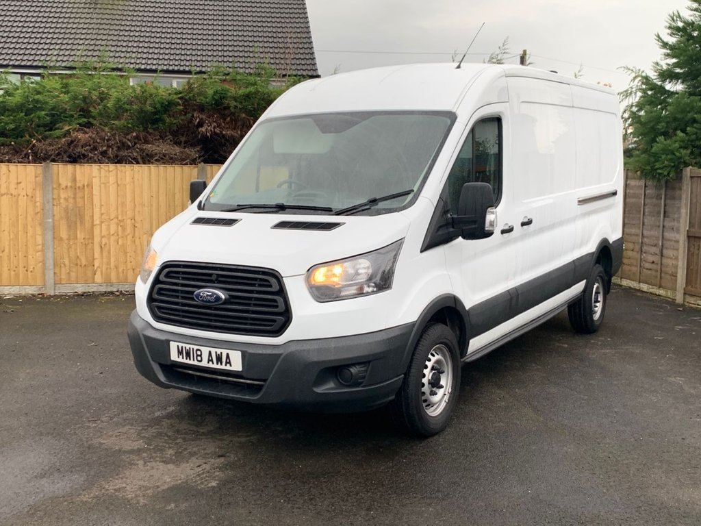 USED 2018 18 FORD TRANSIT 2.0 350 L3 H2 P/V DRW 129 BHP A VERY NICE EXAMPLE, OVER 25 VANS IN SOCK