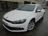 USED 2012 62 VOLKSWAGEN SCIROCCO 2.0 GT TDI BLUEMOTION TECHNOLOGY DSG 2d 140 BHP Excellent Condition, FSH, Low Rate Finance Available, No Deposit, Only One Owner, Automatic Coupe