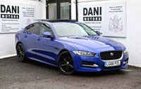 USED 2016 66 JAGUAR XE 2.0d R-Sport Auto (s/s) 4dr 1 OWNER*BIG SATNAV*PANROOF*