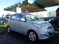 USED 2011 11 HYUNDAI I10 1.2 ACTIVE 5d 85 BHP 20 A YEAR ROAD TAX