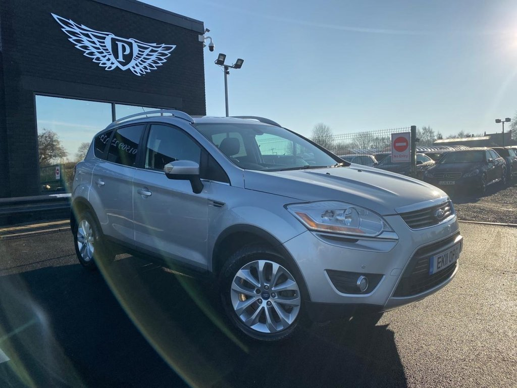 USED 2011 11 FORD KUGA 2.0 TITANIUM TDCI 2WD 5d 138 BHP CRUISE CONTROL | AUX INPUT | A/C
