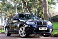 USED 2013 13 BMW X3 2.0 XDRIVE20D M SPORT 5d