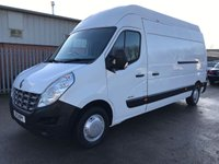 USED 2013 13 RENAULT MASTER 2.3 DCI 125PS LH35 LWB EXTRA HIGH L3H3 **NO VAT**
