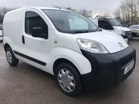 USED 2010 60 CITROEN NEMO 1.4 HDI 70PS 610KG WHITE VAN **NO VAT**