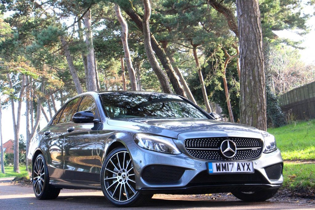 USED 2017 17 MERCEDES-BENZ C CLASS AMG C 43 4MATIC PREMIUM PLUS 4d 362 BHP