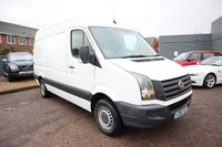 USED 2016 16 VOLKSWAGEN CRAFTER 2.0 CR35 TDI H/R P/V 107 BHP SERVICE HISTORY, 1 PREVIOUS KEEPER